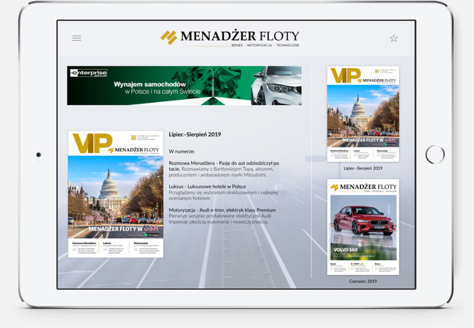 App Kiosk - Menadżer Floty
