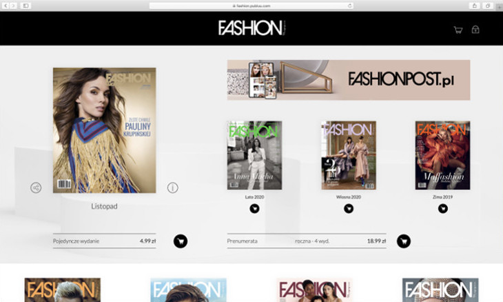 WebKiosk - Fashion Magazine