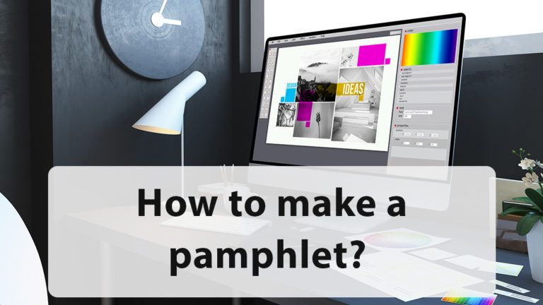 How to Make a Pamphlet?
