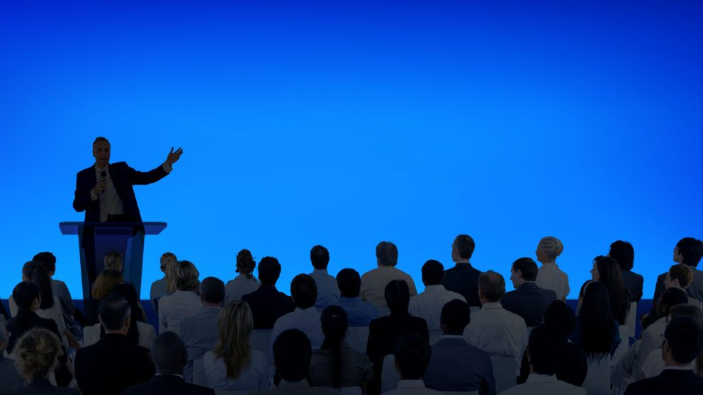 How do you give a powerful business presentation?
