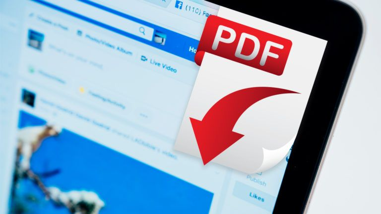 How to Post a PDF on Facebook?
