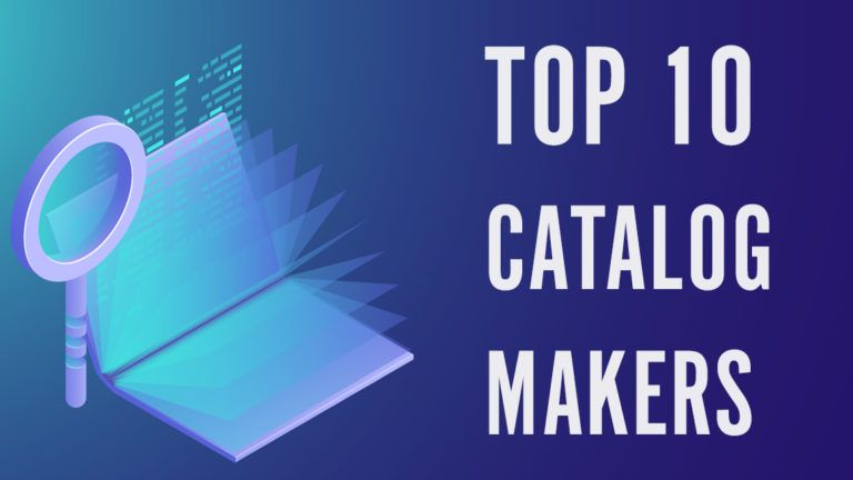 Top 10 Catalog Maker Software For Your Business