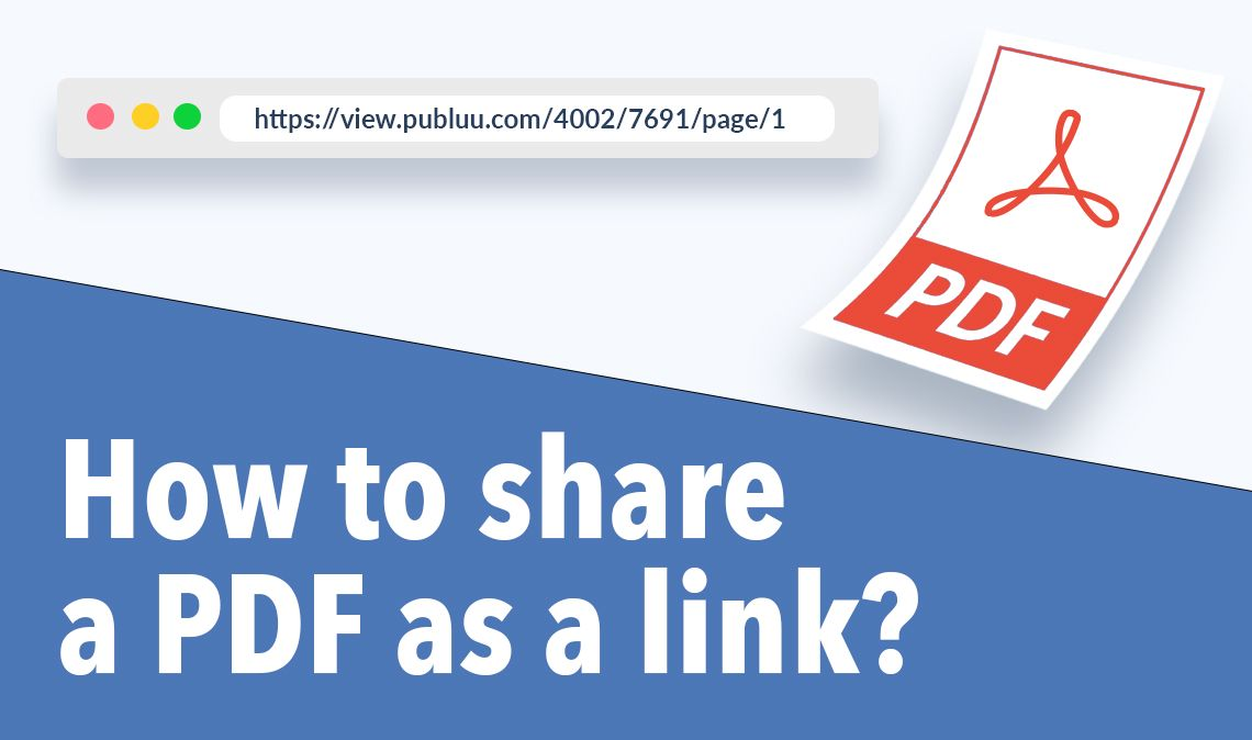 How to share PDF as a link